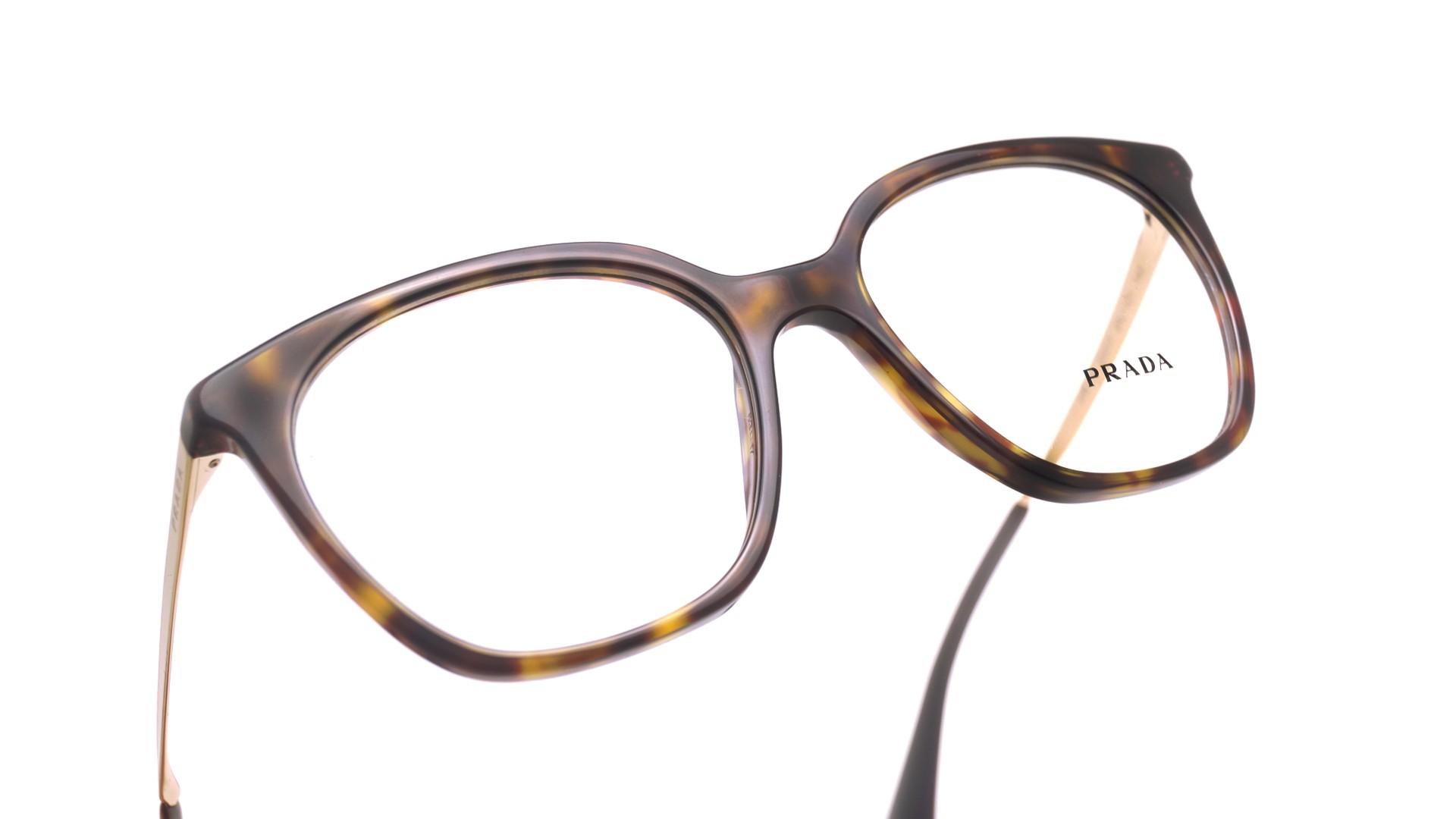 16dfa98d3f38 Eyeglasses Prada PR11TV 2AU1O1 53-17 Tortoise Medium