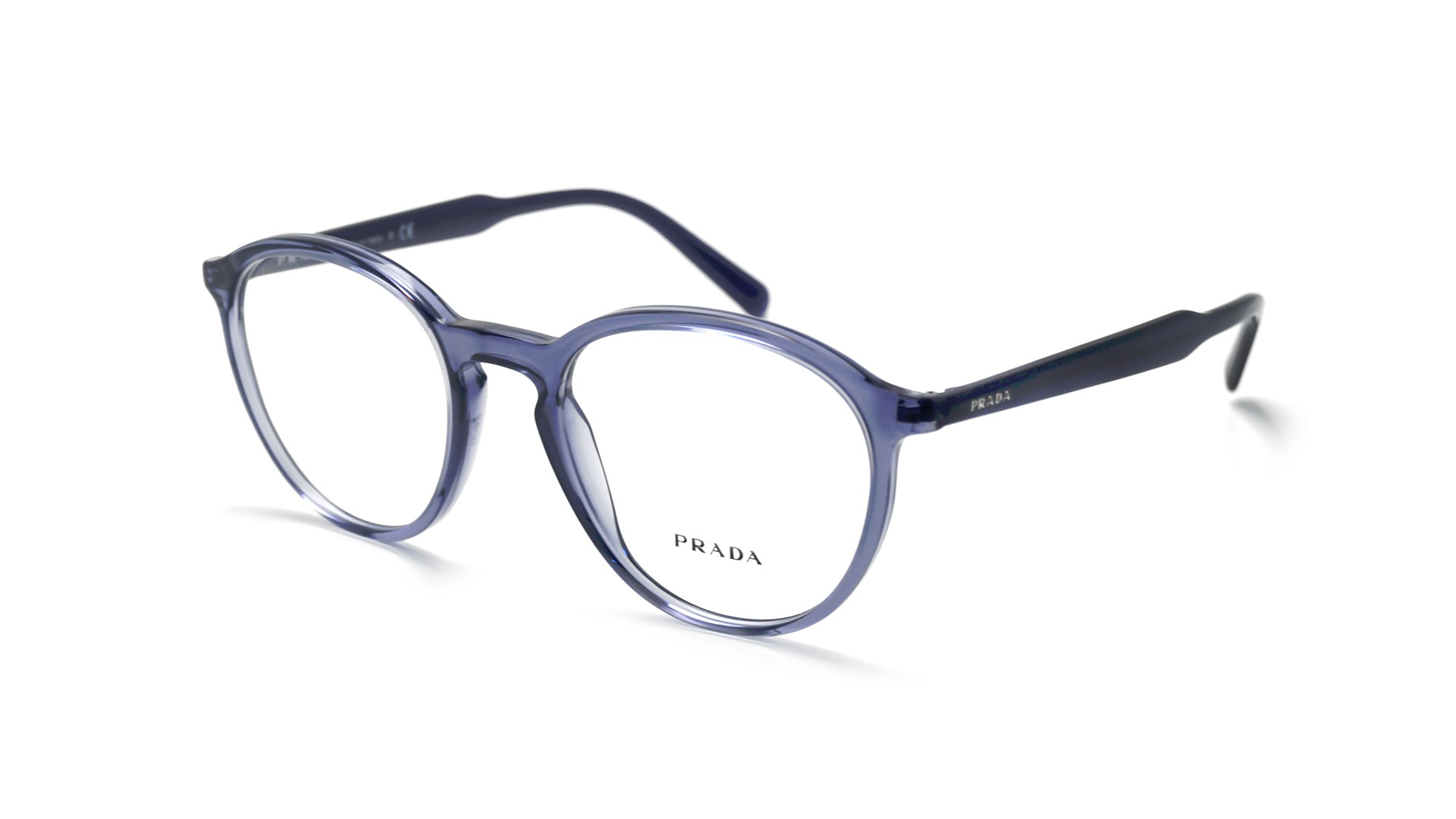5b3f894c0598 Eyeglasses Prada PR13TV VAV101 51-20 Blue Medium