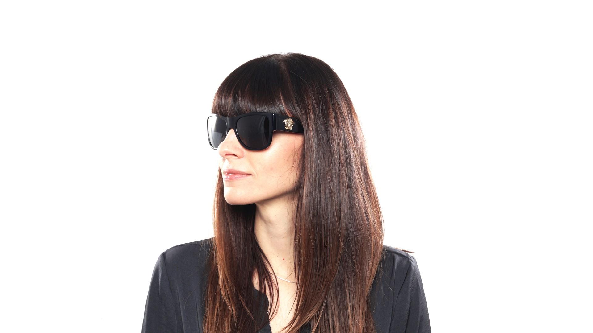 ba4a9d3acdb Sunglasses Versace VE4275 Gb187 58-18 Black Large