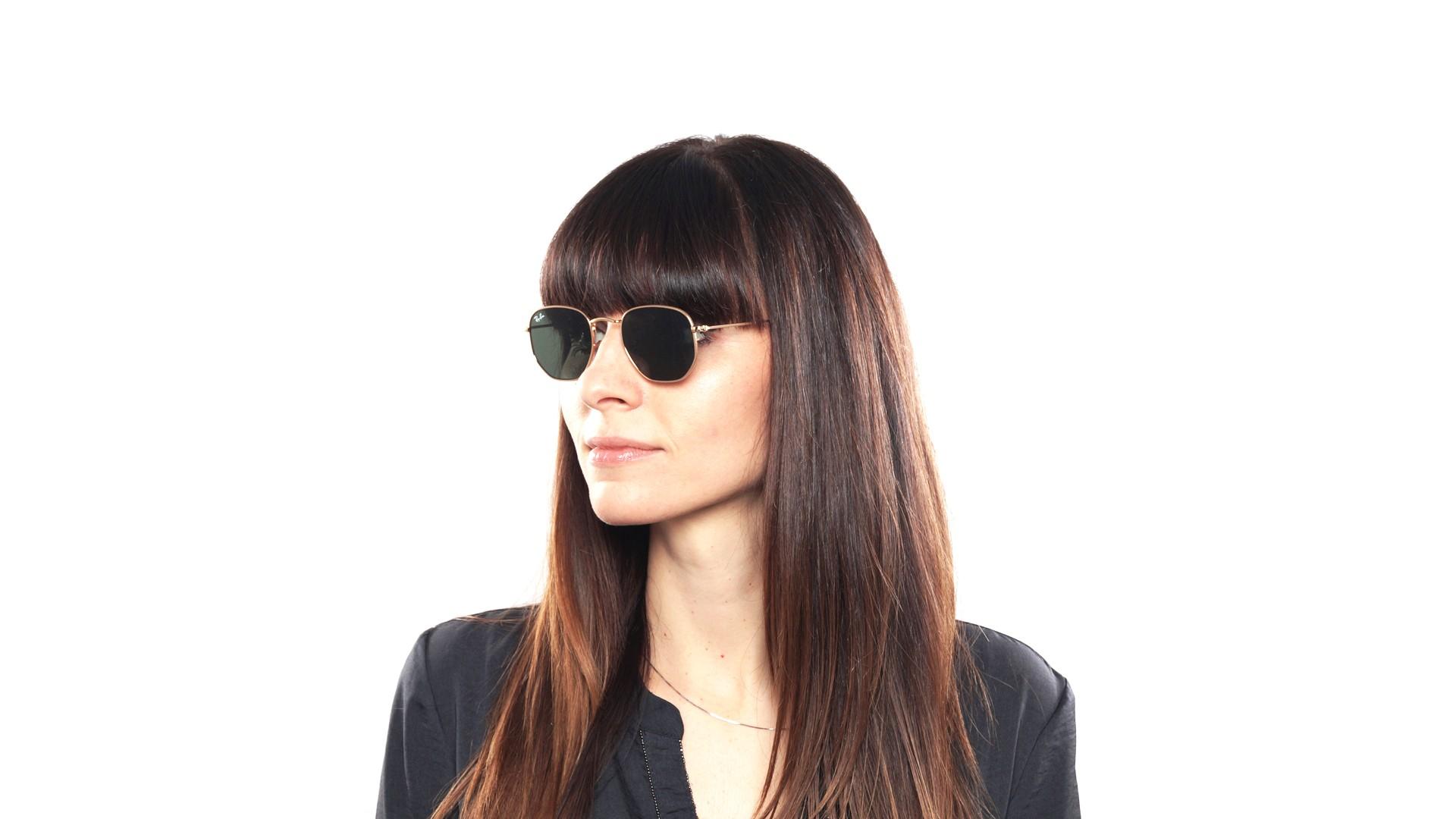 d0b0eecf62ef9 Sunglasses Ray-Ban RB3548N 001 48-21 Gold Small Flash