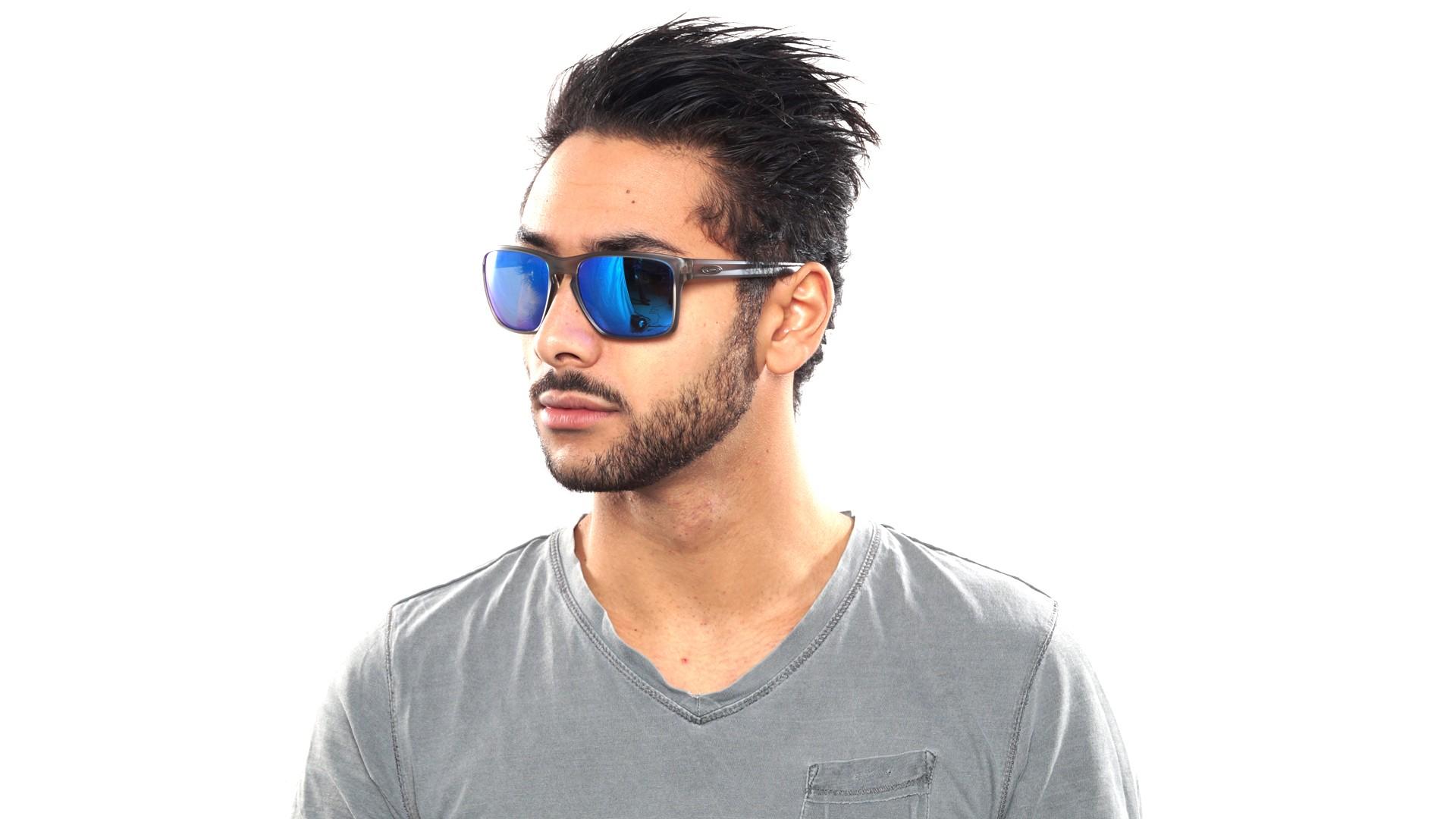 d2e337f3d2 Sunglasses Oakley Sliver Xl Grey OO9341 03 57-18 Medium Polarized Flash