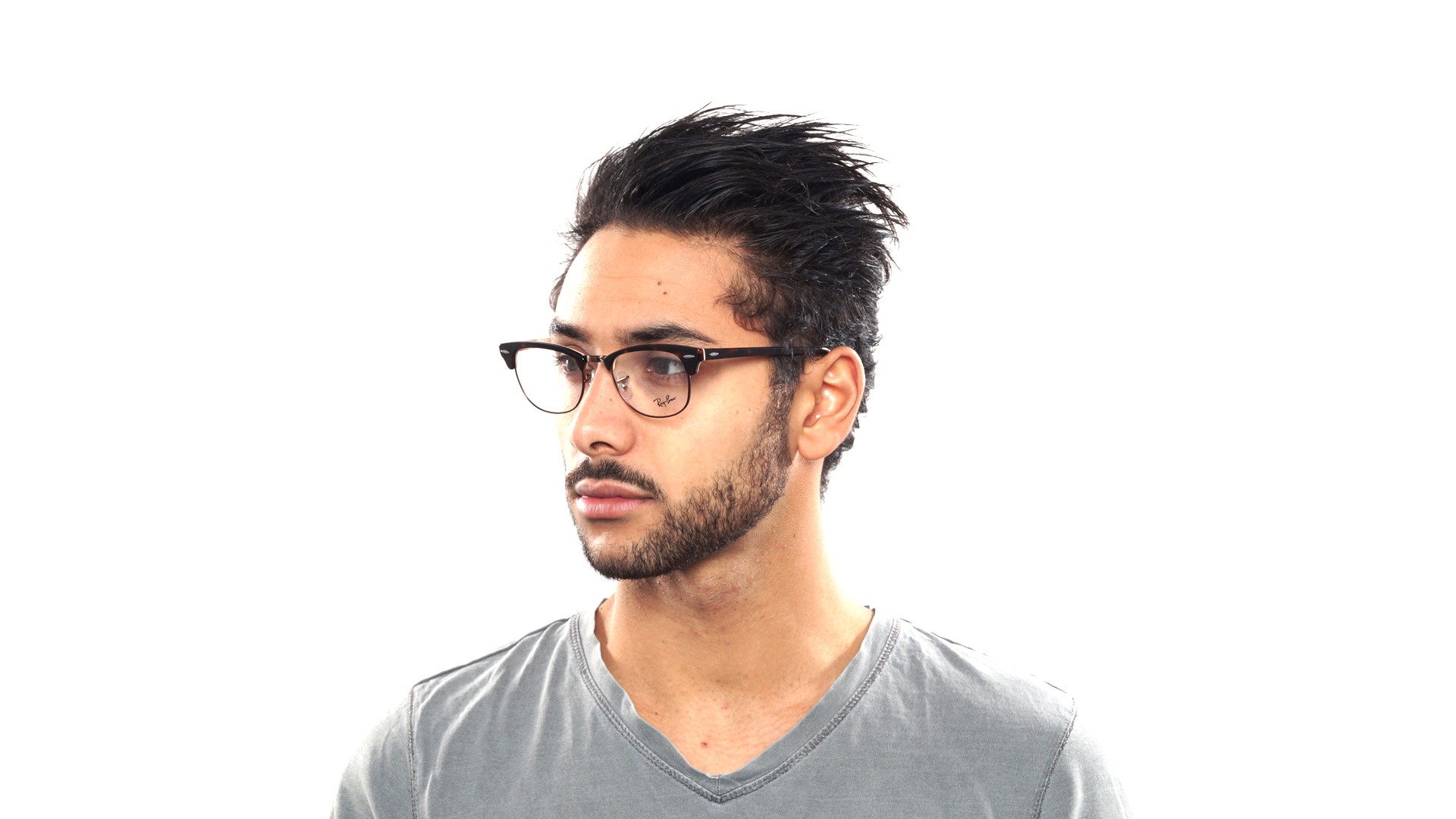 fdaf4d1a5ab ... eyeglasses photograph ec04d bb40c cheap lunettes de vue ray ban  clubmaster tortoise rx5154 rb5154 5650 51 21 visiofactory 8554b bed35 ...