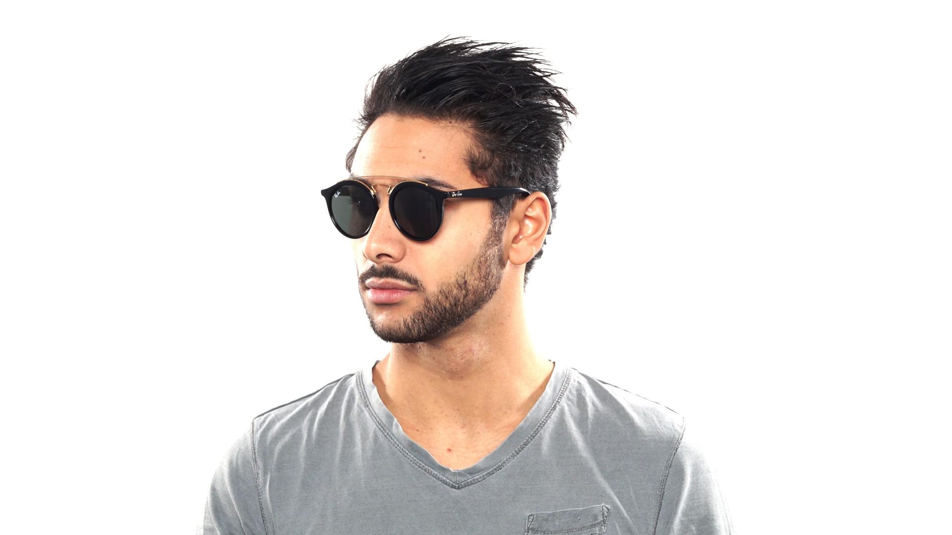 bd68138fc9 Sunglasses Ray-Ban Tech Black RB4266 601 71 49-21 Medium