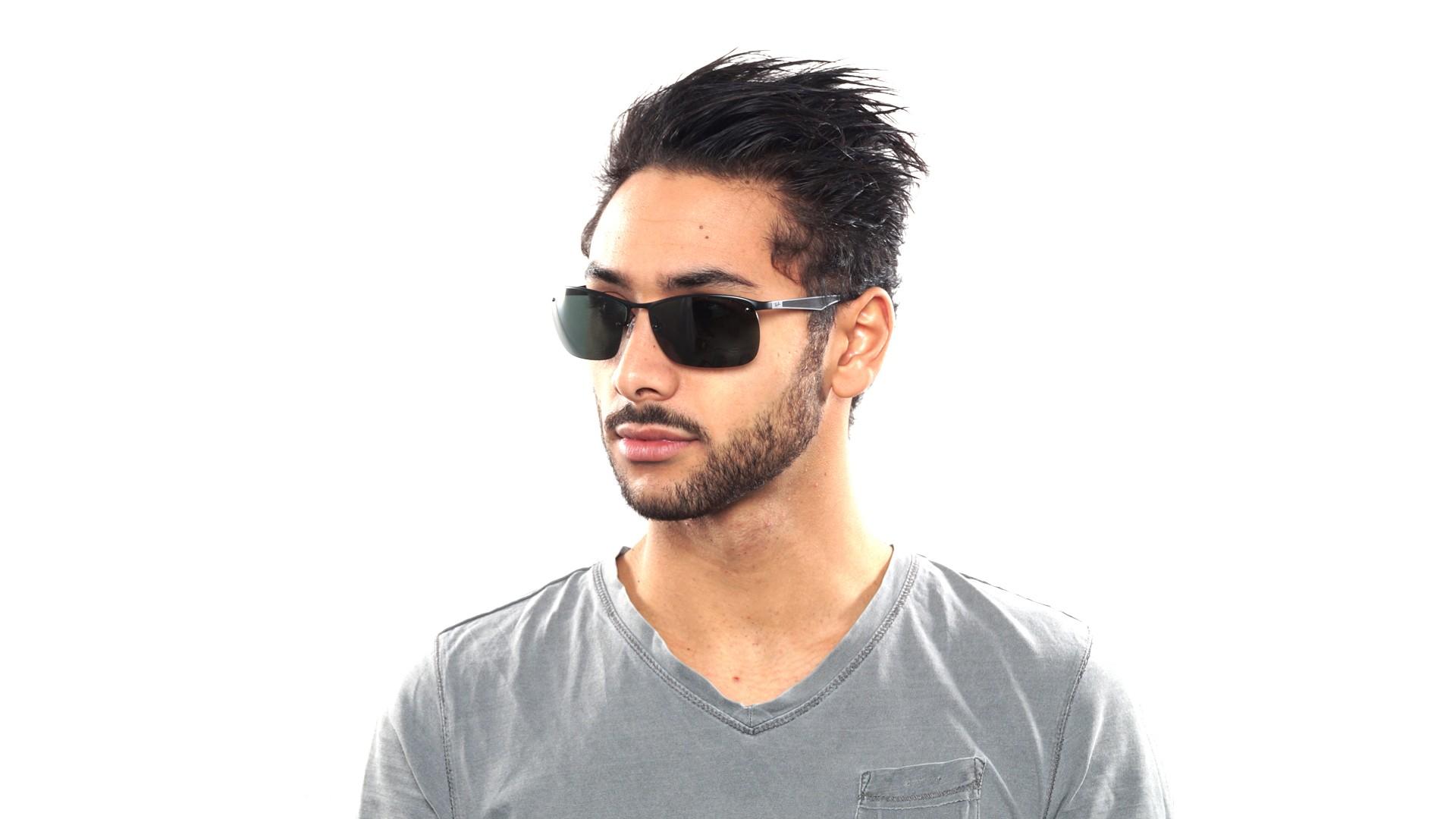 d916858d4ac Sunglasses Ray-Ban RB3550 006 71 64-15 Matte Black Large