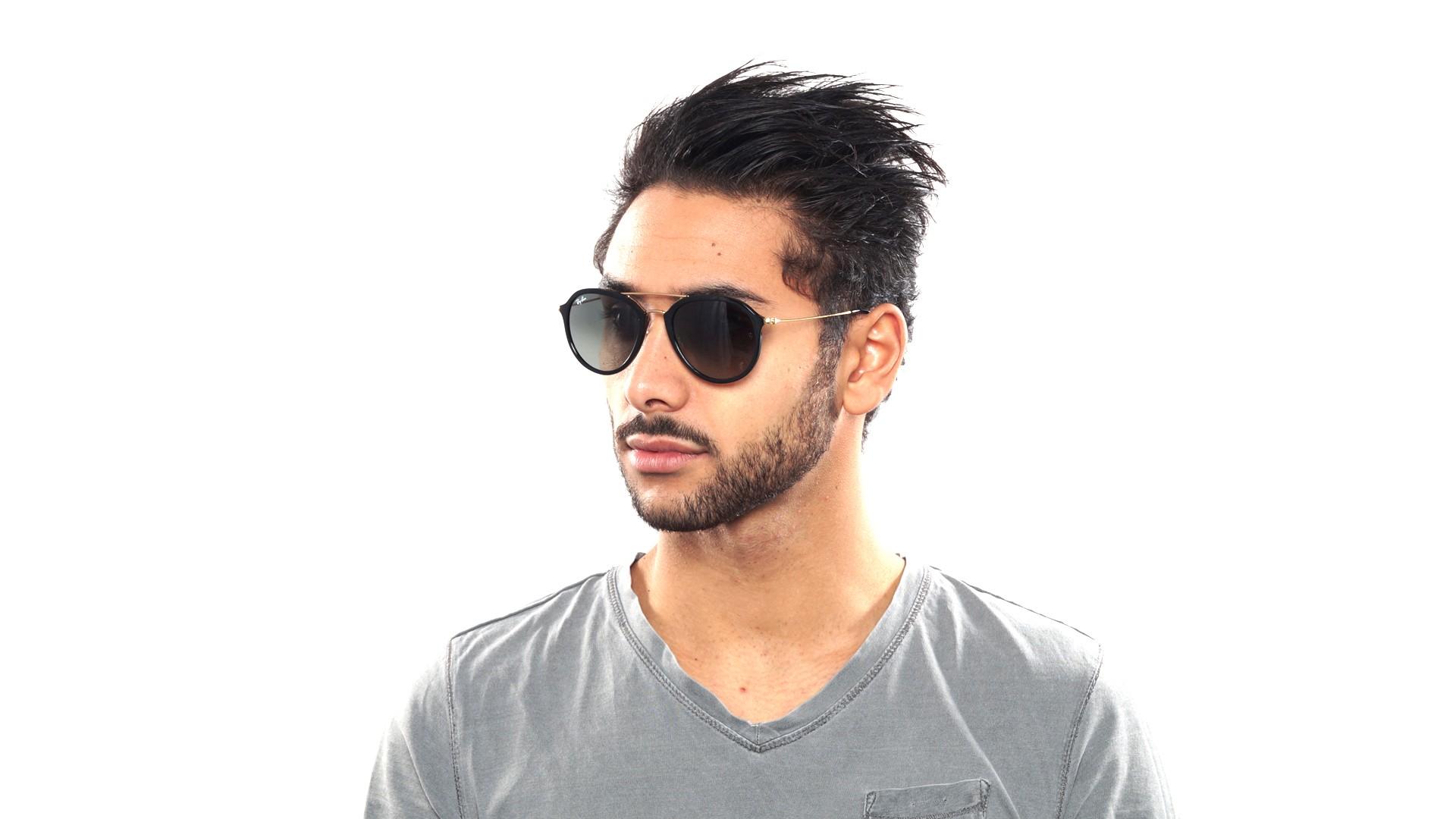 358182b7f4ab3 Sunglasses Ray-Ban RB4253 601 71 53-21 Black Medium Degraded