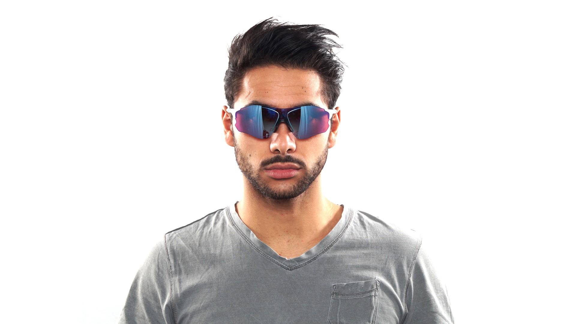 2a4d1eee15 Sunglasses Oakley Evzero path snow White Prizm OO9308 1238 Large Mirror