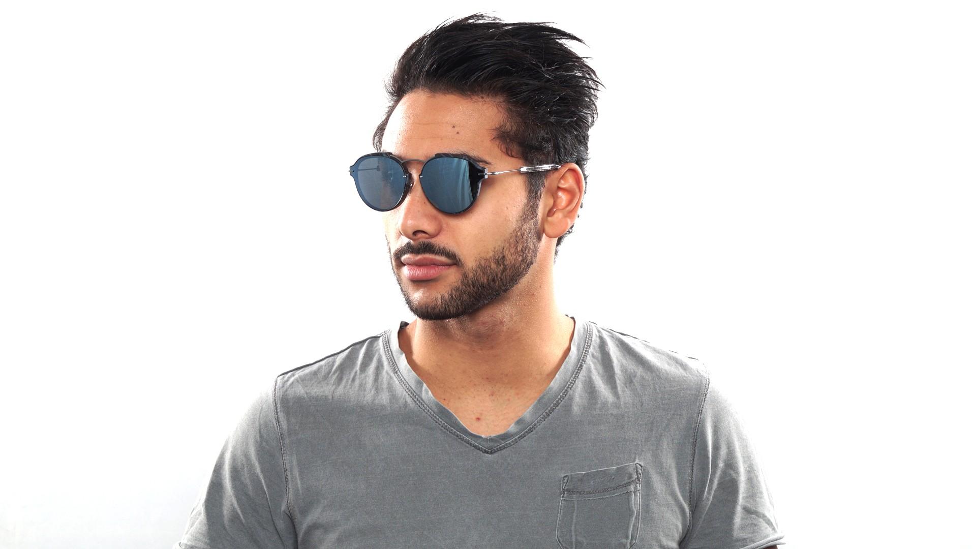 38bf1ec77bfe1 Sunglasses Dior Eclat Grey Matte ECLAT GNOT7 60-13 Medium Mirror