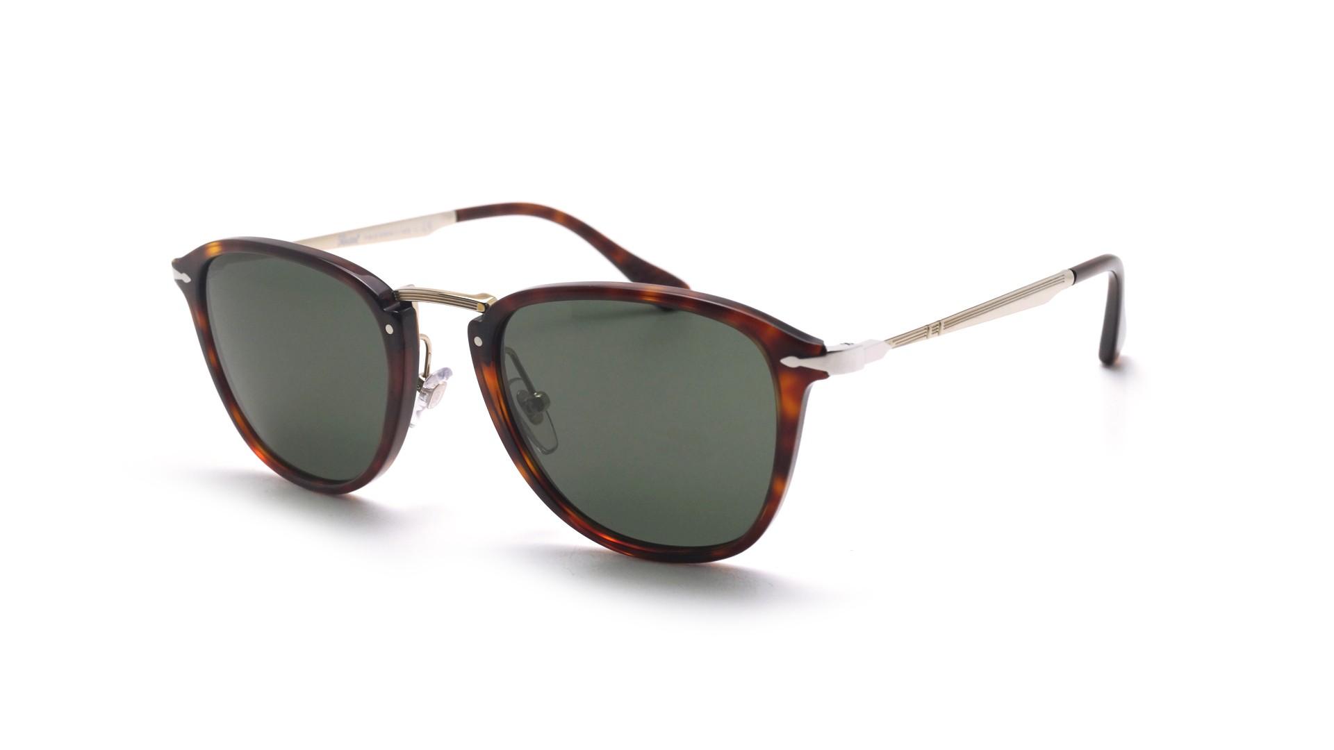 18c6cdd8bf Sunglasses Persol Calligrapher edition Havana Tortoise PO3165S 24 31 52-22  Large