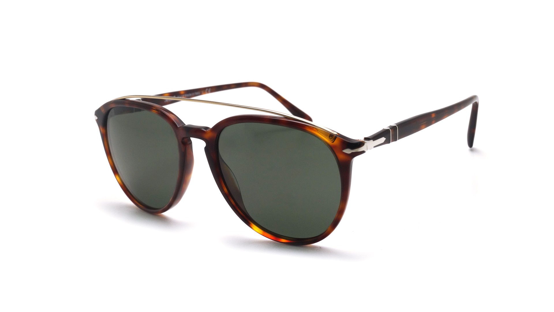 d2a1277b6529c Sunglasses Persol PO3159S 901531 55-19 Havana Tortoise Large