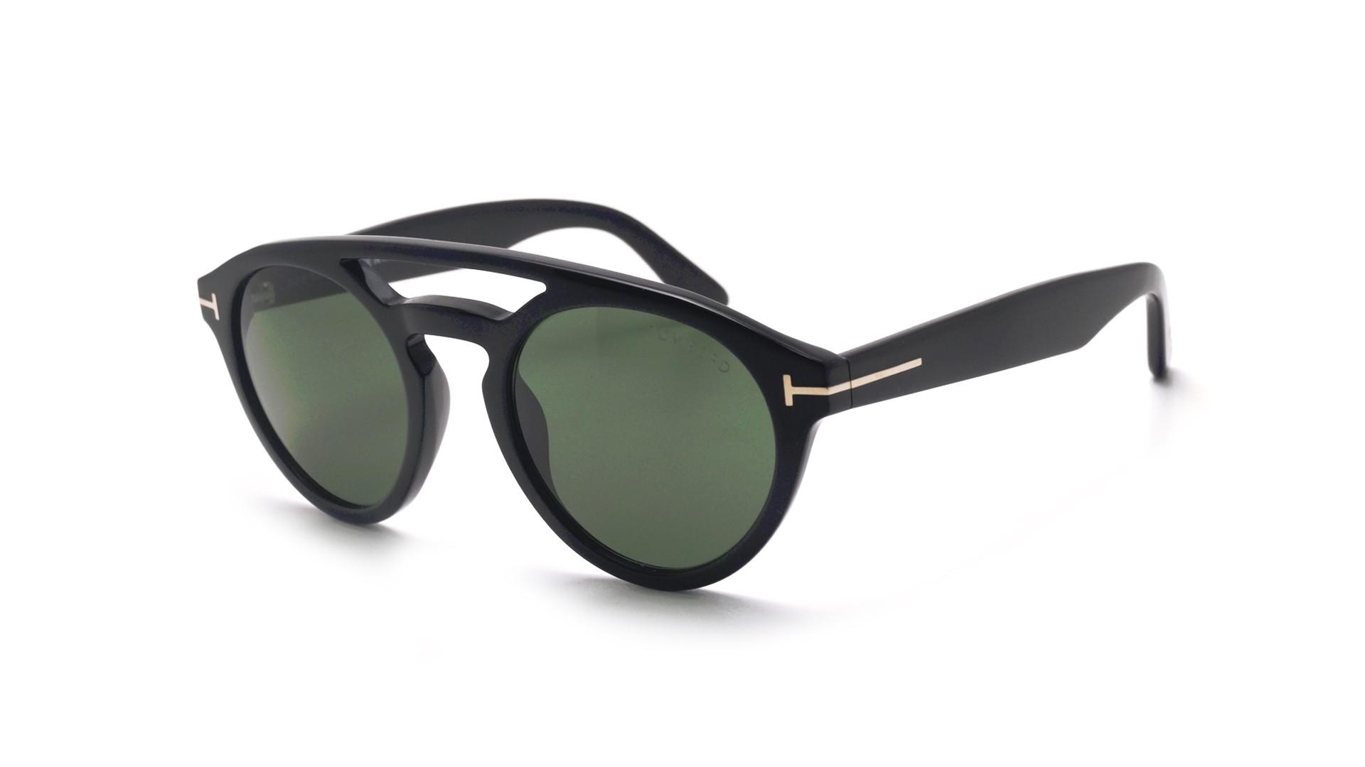 bab2792eeb Sunglasses Tom Ford Clint Black FT0537 01N 50-21 Medium