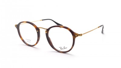 Ray-Ban Round Fleck Écaille RX2447 RB2447V 5494 49-21 Medium