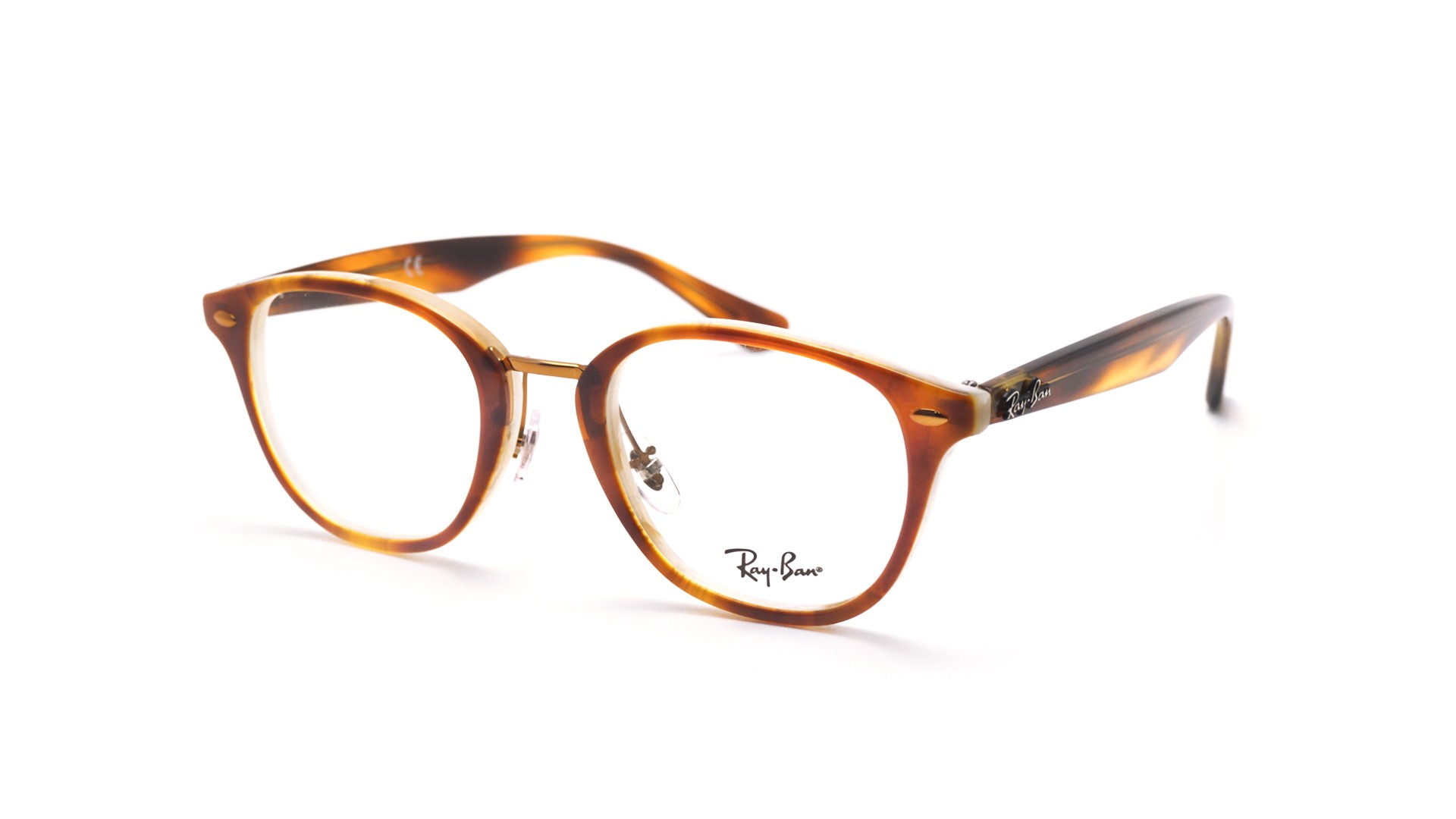 22cdff200ec07 Eyeglasses Ray-Ban RX5355 RB5355 5677 48-21 Tortoise Small