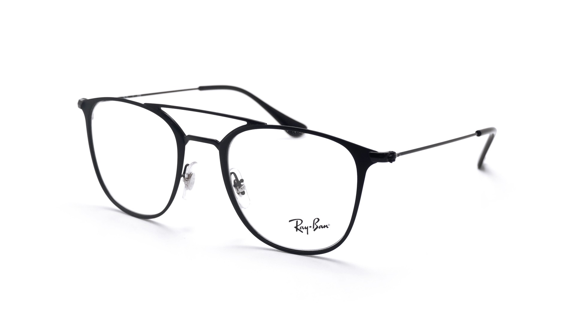 71000ec398 Eyeglasses Ray-Ban RX6377 RB6377 2904 50-21 Black Mat Medium