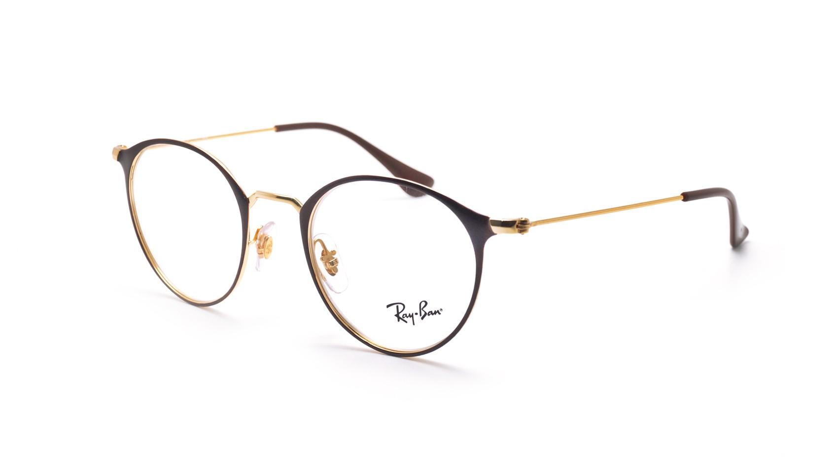 fc2ea771e0 Eyeglasses Ray-Ban RX6378 RB6378 2905 47-21 Brown Small