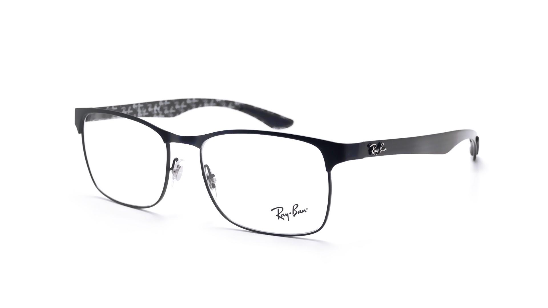 d2b9c44604 Eyeglasses Ray-Ban RX8416 RB8416 2503 55-17 Black Matte Medium