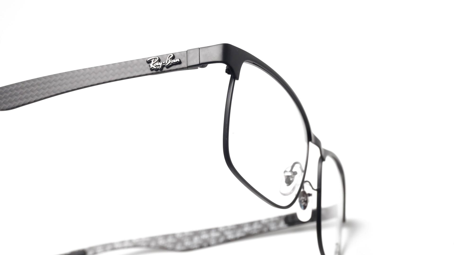 7a3ef0817d Eyeglasses Ray-Ban RX8416 RB8416 2503 55-17 Black Matte Medium