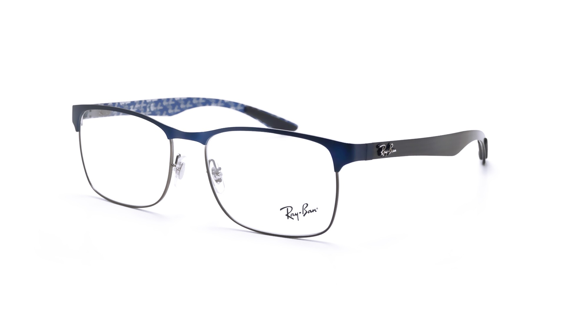 ab34f5995f Eyeglasses Ray-Ban RX8416 RB8416 2914 55-17 Blue Matte Medium