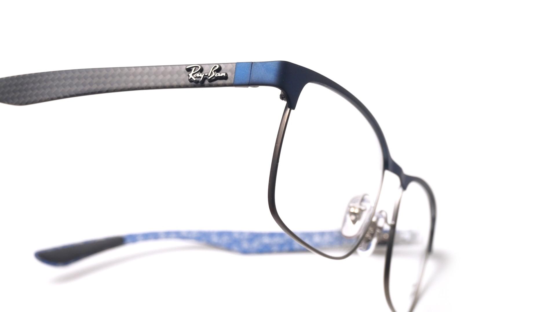 ab34f5995f Eyeglasses Ray-Ban RX8416 RB8416 2914 55-17 Blue Matte Medium