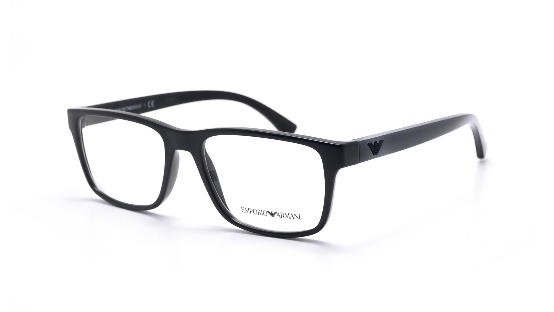Eyeglasses Emporio Armani EA3103 5017 53-17 Black Medium 6abfbb01ce29