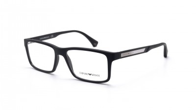 a3efc93a8f8 Eyeglasses Emporio Armani EA3038 5063 54-16 Black Matte Medium