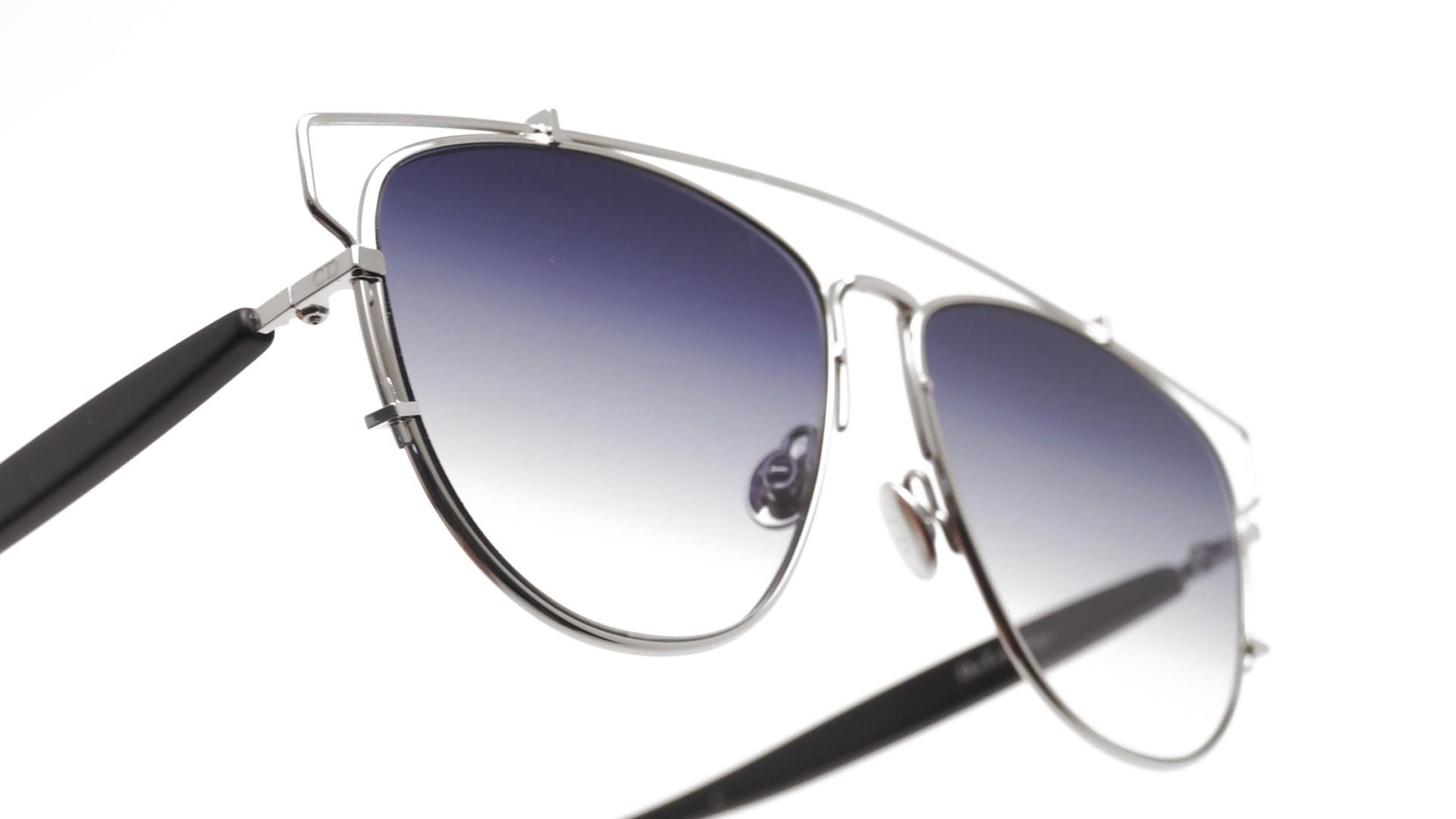 4de79cb7e232c Lunettes de soleil Dior Technologic Argent 84J84 57-14 Medium Dégradés