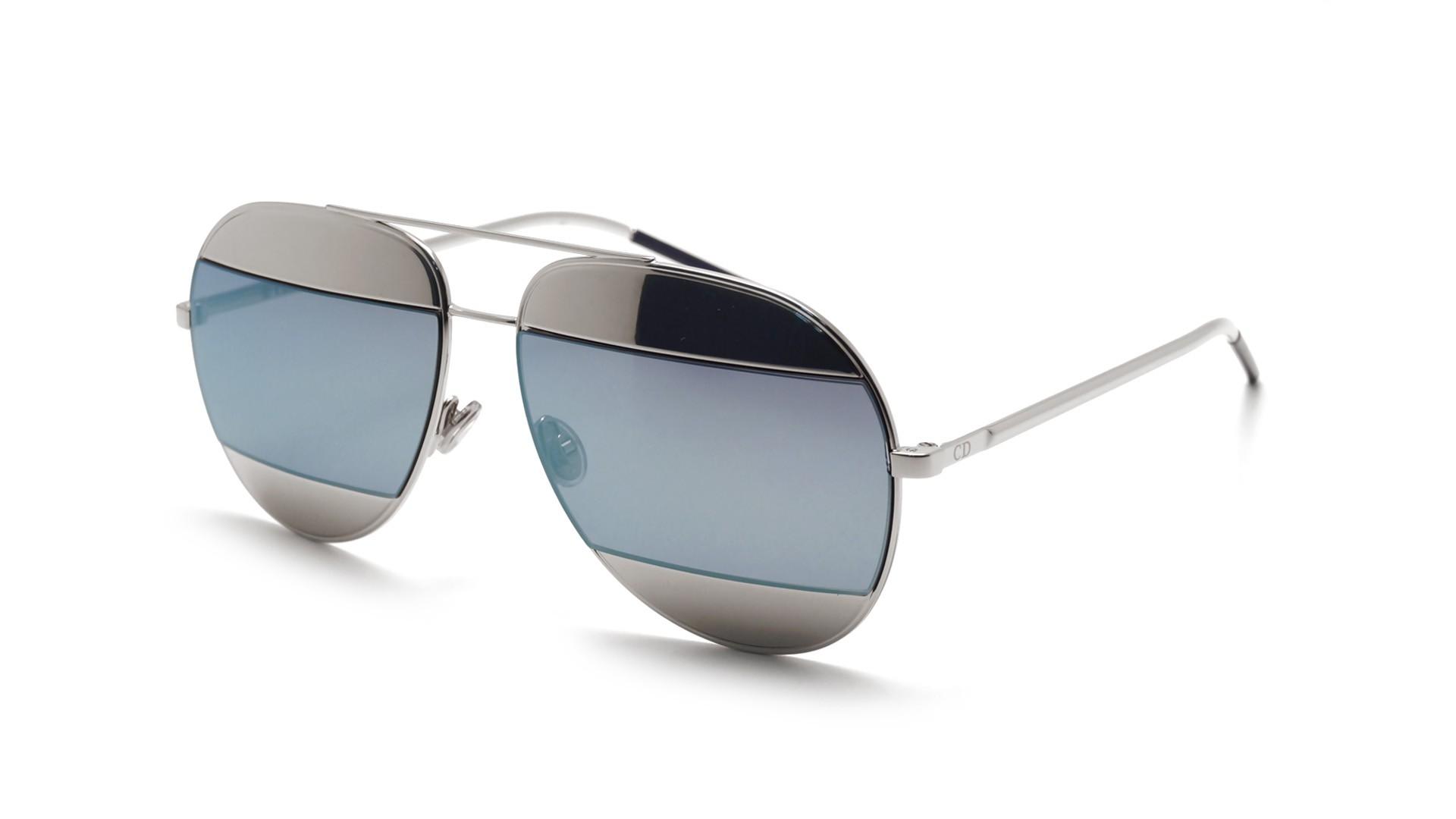 0ff0c267356d Sunglasses Dior Split 1 Silver SPLIT1 0103J 59-14 Large Flash