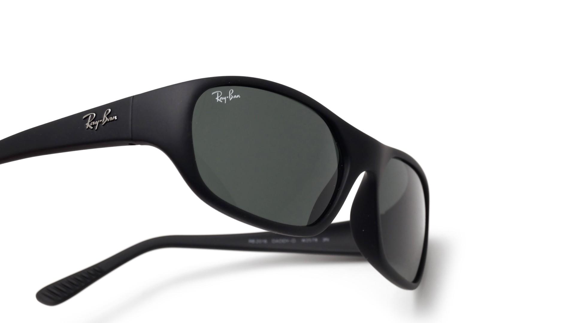 213905dbf33 Sunglasses Ray-Ban Daddy-o II Black Matte G-15 RB2016 W2578 59-170 Medium