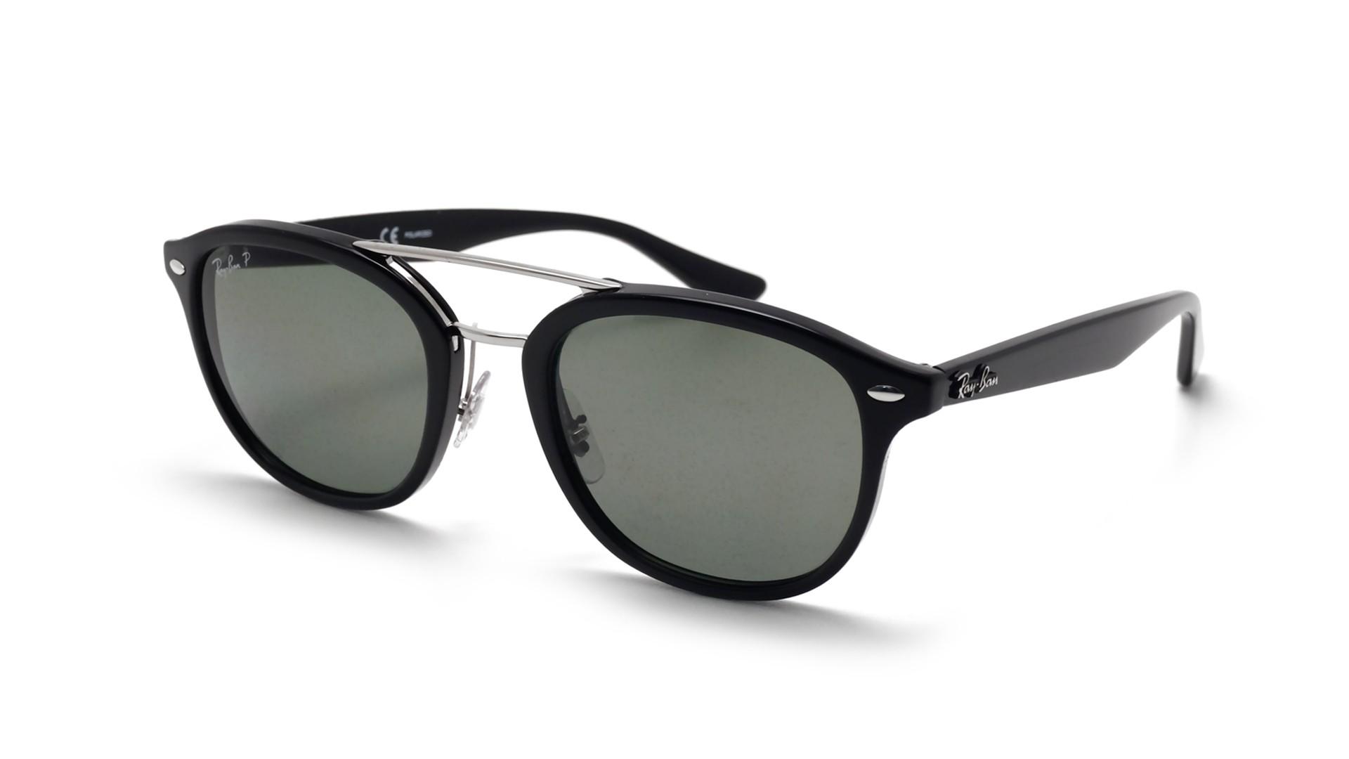 e558d88087f Sunglasses Ray-Ban Highstreet Black RB2183 901 9A 53-21 Medium Polarized