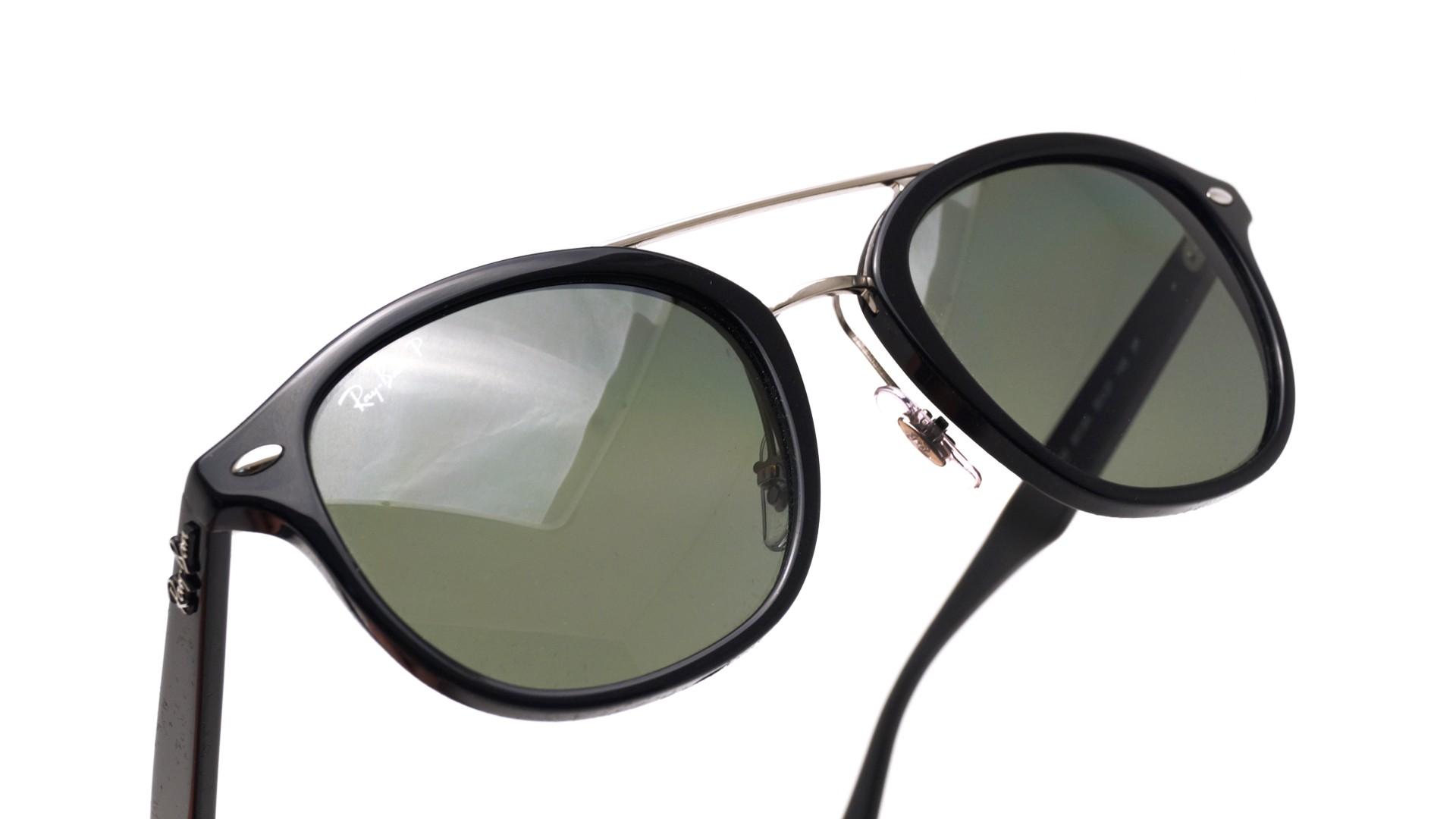 261b680f8c Sunglasses Ray-Ban Highstreet Black RB2183 901 9A 53-21 Medium Polarized