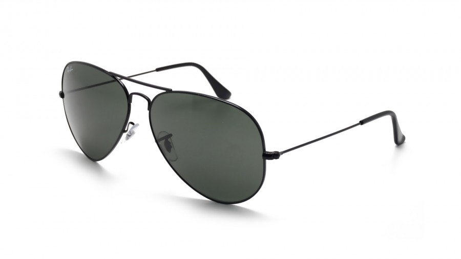 5a0ba08d67 Sunglasses Ray-Ban Aviator Large Metal II Black G-15 RB3026 L2821 62-14  Large