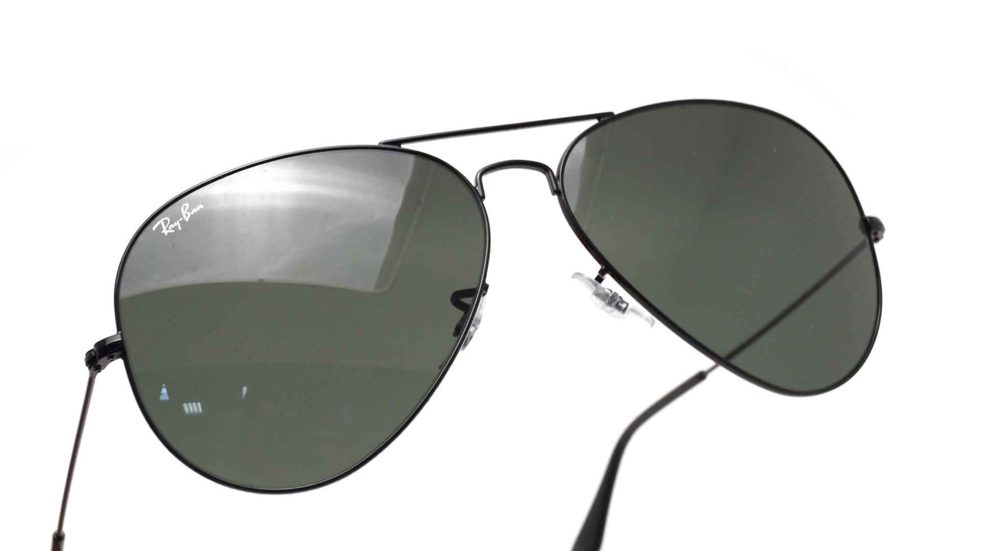 9283cec4572 Sunglasses Ray-Ban Aviator Large Metal II Black G-15 RB3026 L2821 62-14  Large