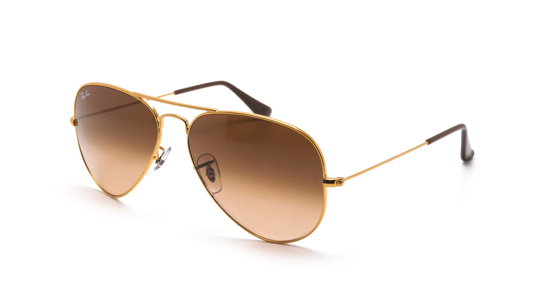 Lunettes de soleil Ray-Ban Aviator Gradient Large metal Or RB3025 9001 A5  58-14 Large Dégradés 56179f876109