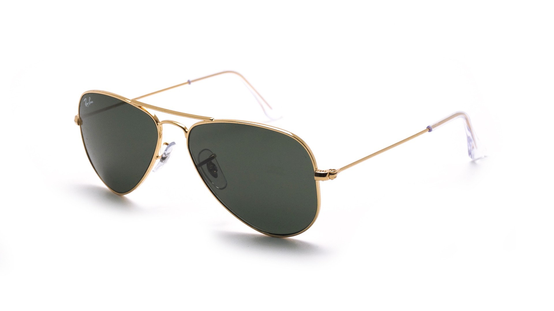 9fc62aeaf Sunglasses Ray-Ban Aviator Gold G-15 RB3044 L0207 52-14 Small