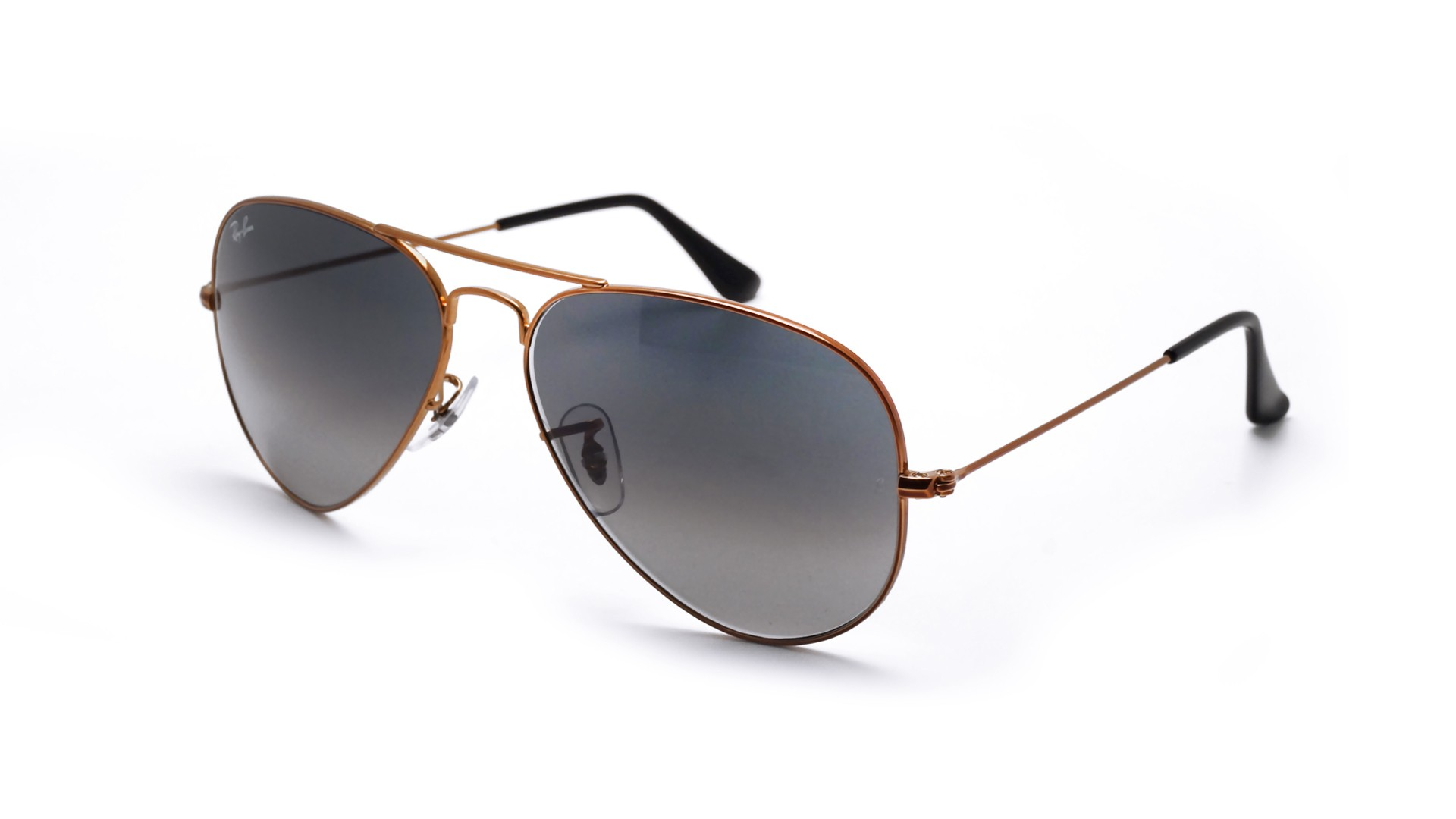2af93dd9e48c Sunglasses Ray-Ban Aviator Large Metal Brown RB3025 197/71 58-14 Large  Gradient