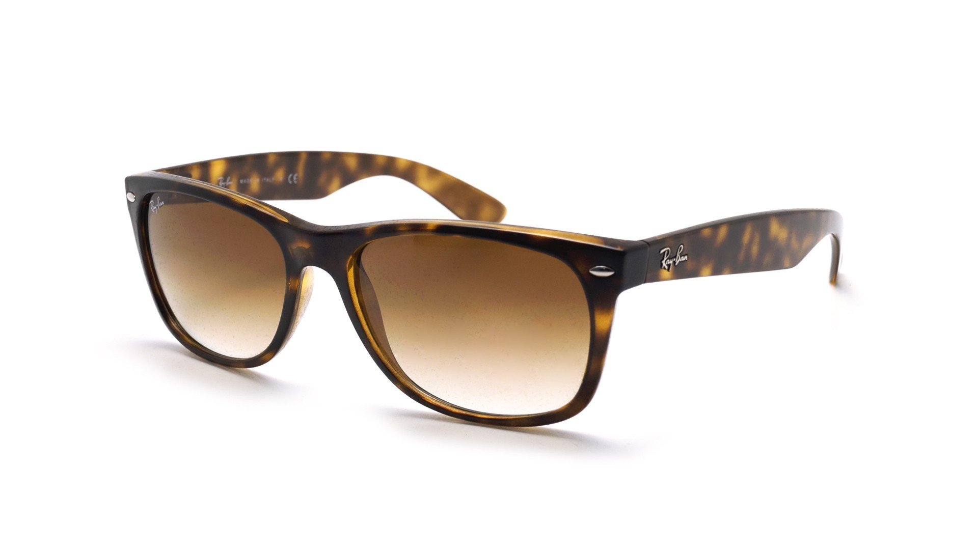 0808a2b4729fd Sunglasses Ray-Ban New Wayfarer Tortoise RB2132 710 51 55-18 Large Gradient
