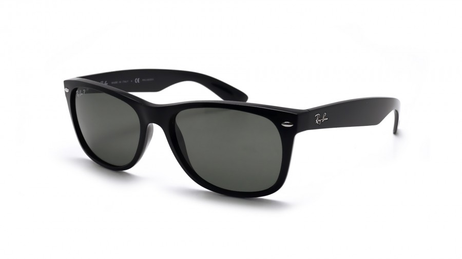 Rb2132 New Wayfarer 901/58 Black Crystal Green Polarized 58/18 145 AAzUyy