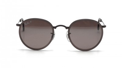 01c851eb09300 ... Ray-Ban Round Metal Grey Matte RB3517 029 N8 51-22 Folding Polarized ...