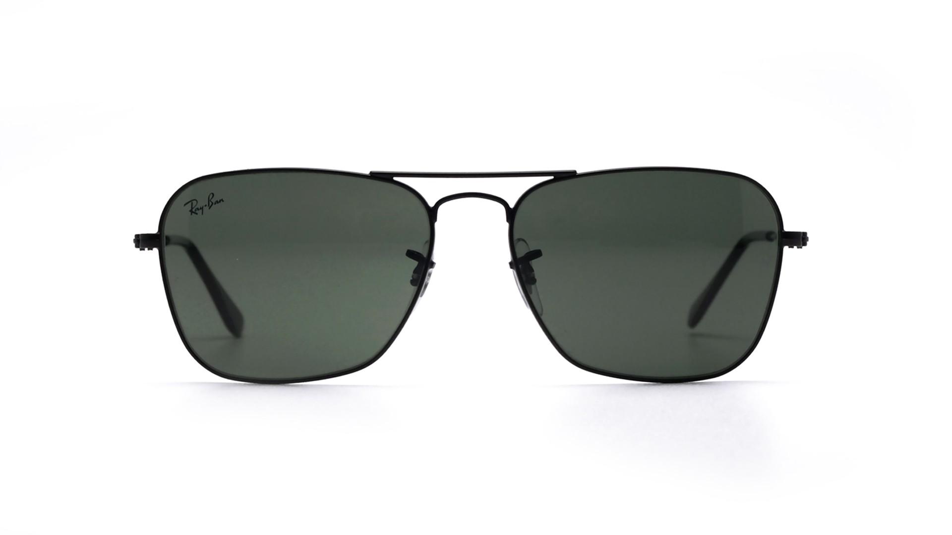 ae865ad41e Sunglasses Ray-Ban Caravan Black Matte G-15 RB3136 W3338 55-15 Medium