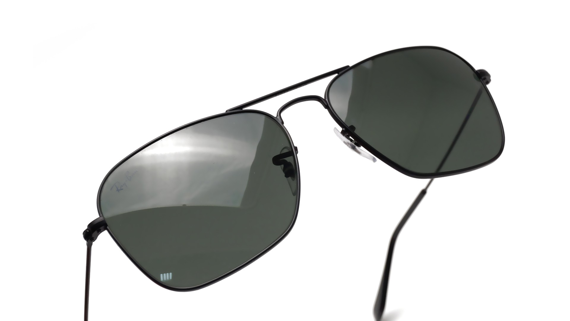 7a0871e253c Sunglasses Ray-Ban Caravan Black Matte G-15 RB3136 W3338 55-15 Medium