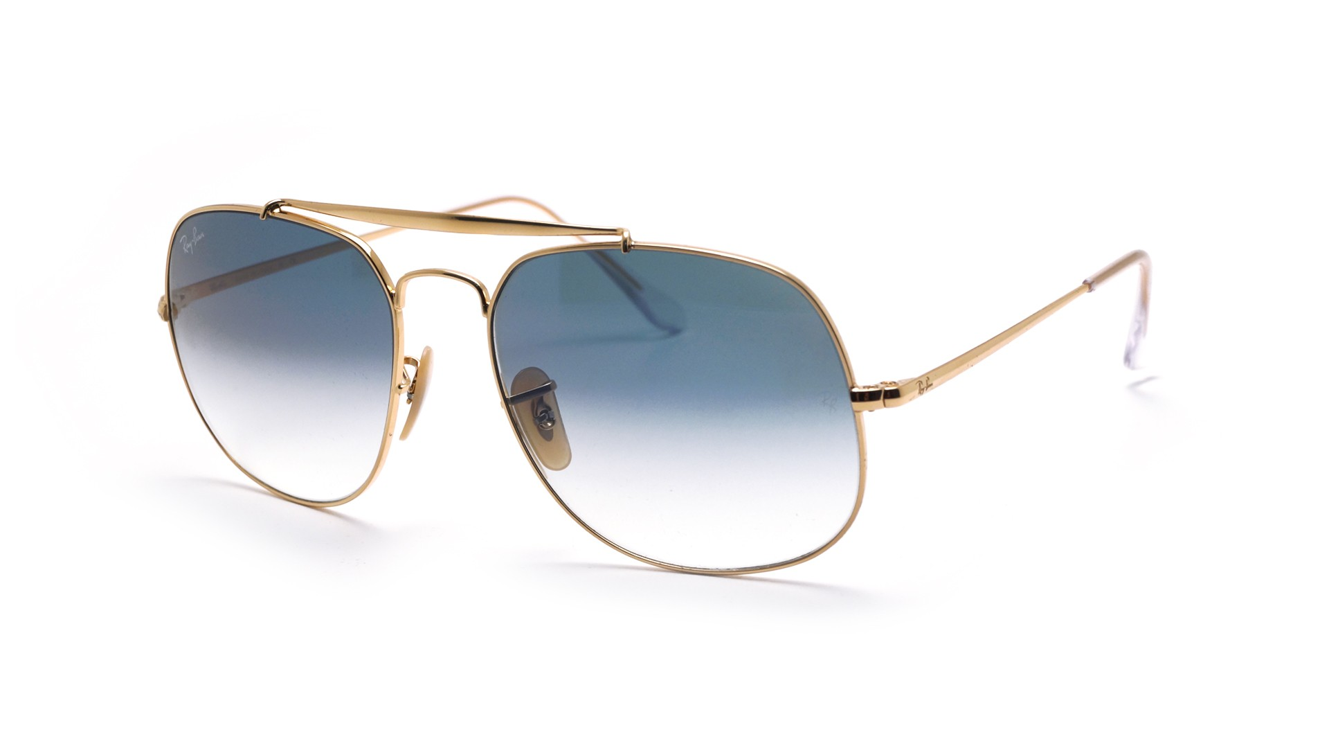 8ac108e21e9 Sunglasses Ray-Ban General Gold RB3561 001 3F 57-17 Large Gradient