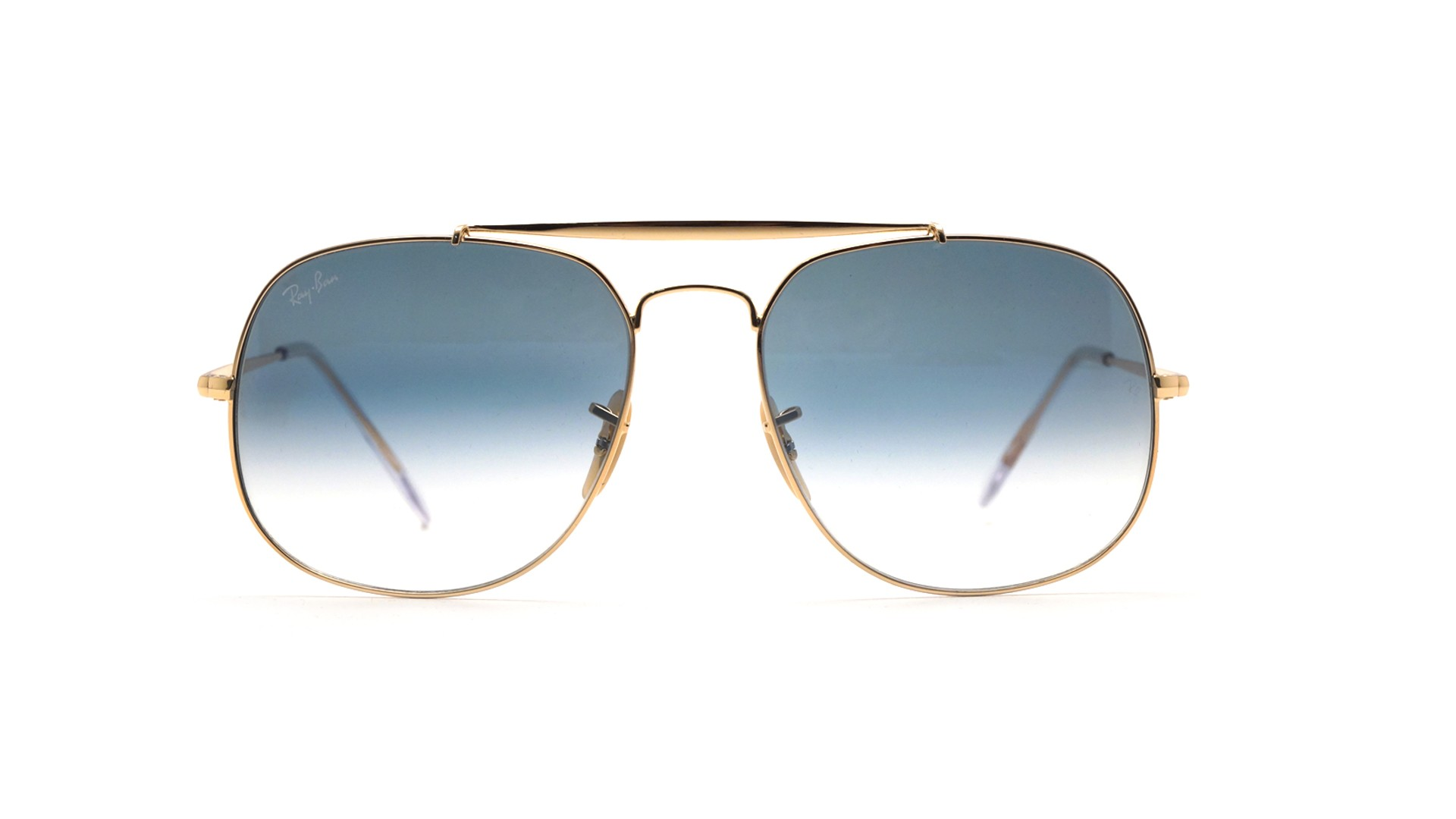 46a72054376da Sunglasses Ray-Ban General Gold RB3561 001 3F 57-17 Large Gradient