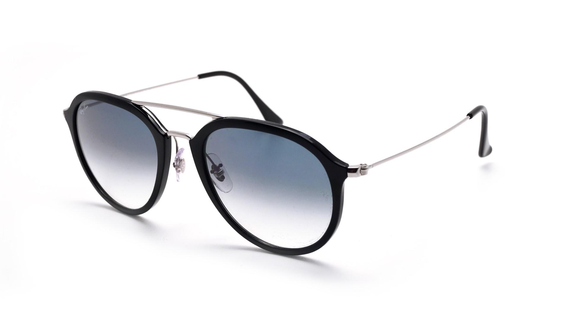 4b5bf9831 Sunglasses Ray-Ban Hiighstreet Black RB4253 62923F 53-21 Medium Gradient