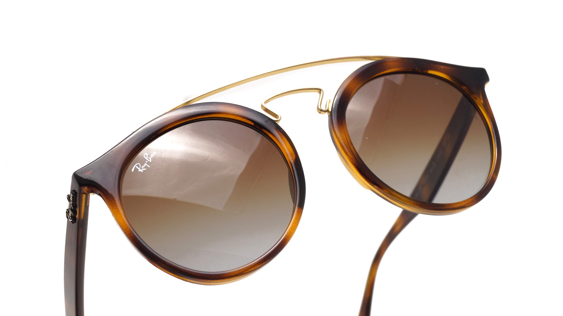 Sunglasses Ray-Ban New gatsby Tortoise RB4256 710 T5 49-20 Large Polarized  Gradient 4343757d04