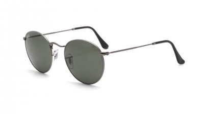 Ray-Ban Round Metal Grau Matt RB3447 029 53-21 94,11 €