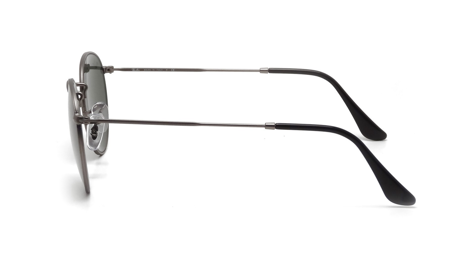 bd8c427d5d Sunglasses Ray-Ban Round Metal Grey Matte G-15 RB3447 029 53-21 Large