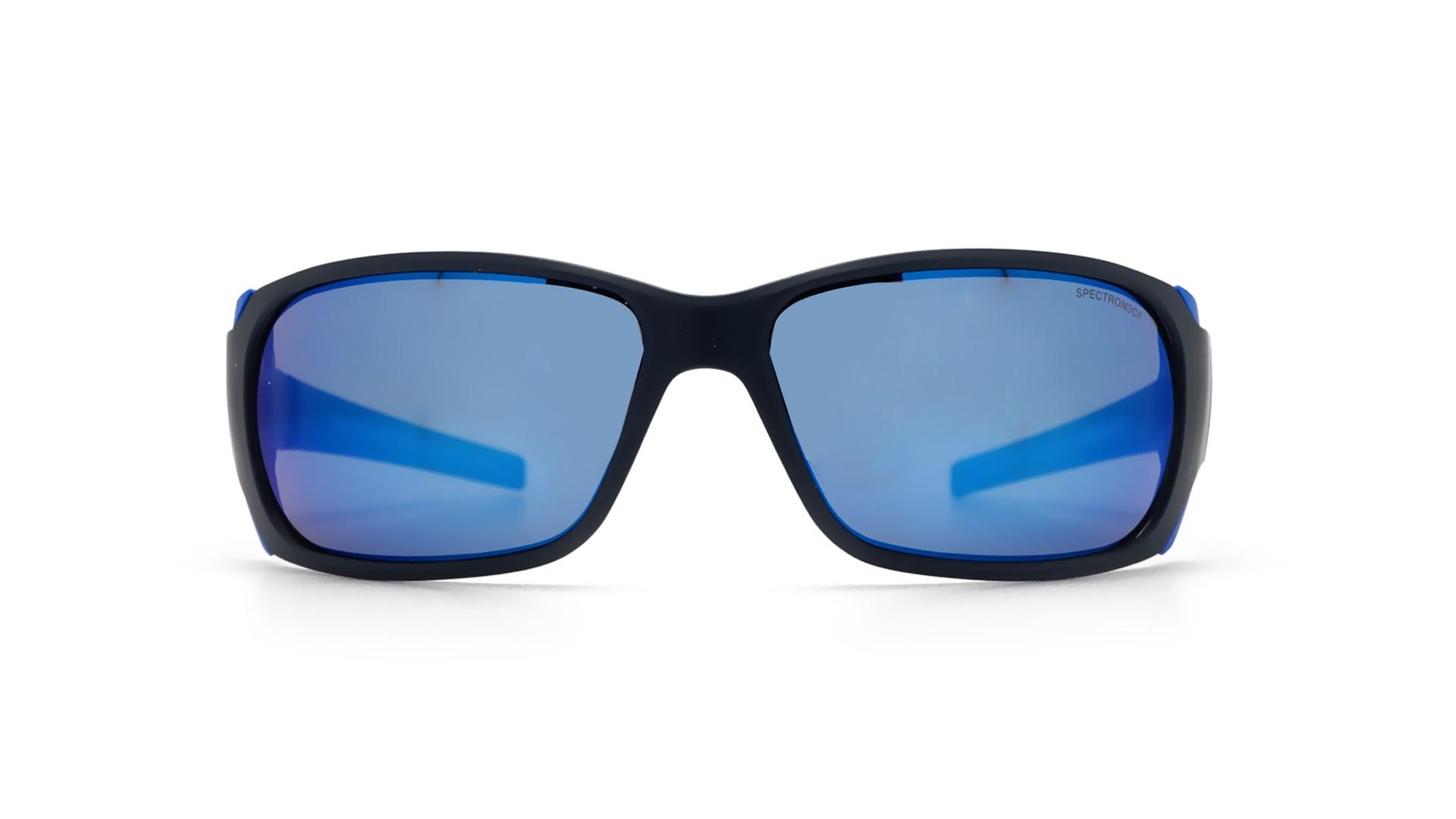 c7be19bbd4faa8 Lunettes de soleil Julbo Montebianco Bleu Mat J415 1112 62-15 Large Miroirs
