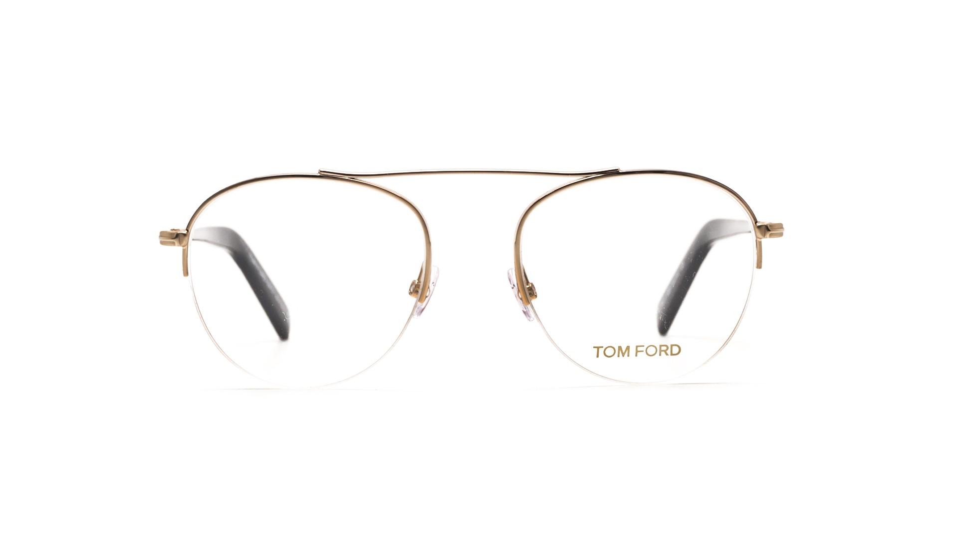 78b6f71eb1574 Eyeglasses Tom Ford FT5451 028 50-19 Gold Small