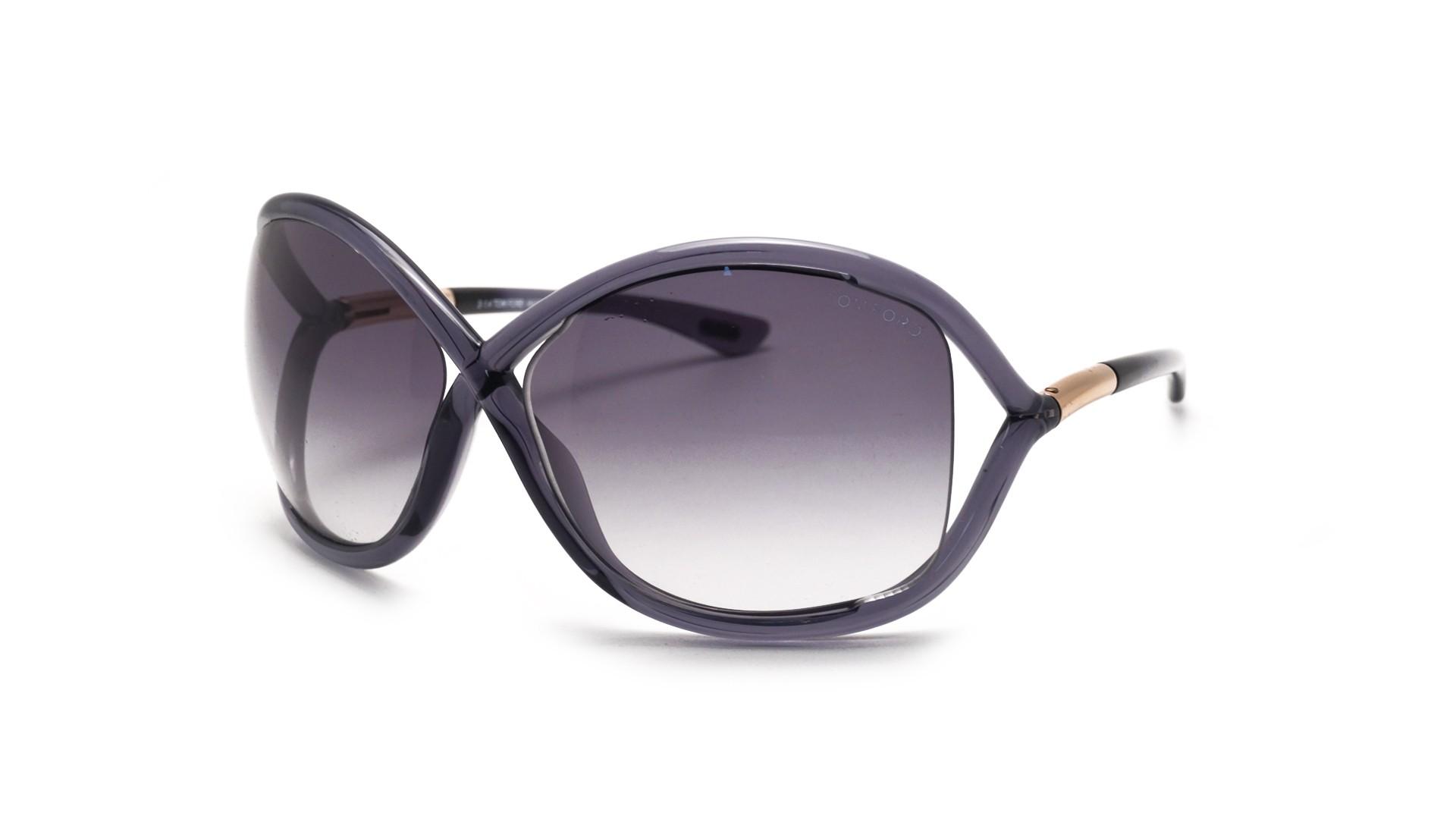 e450d9da5e039 Sunglasses Tom Ford Whitney Grey FT0009 0B5 64-14 Large Gradient
