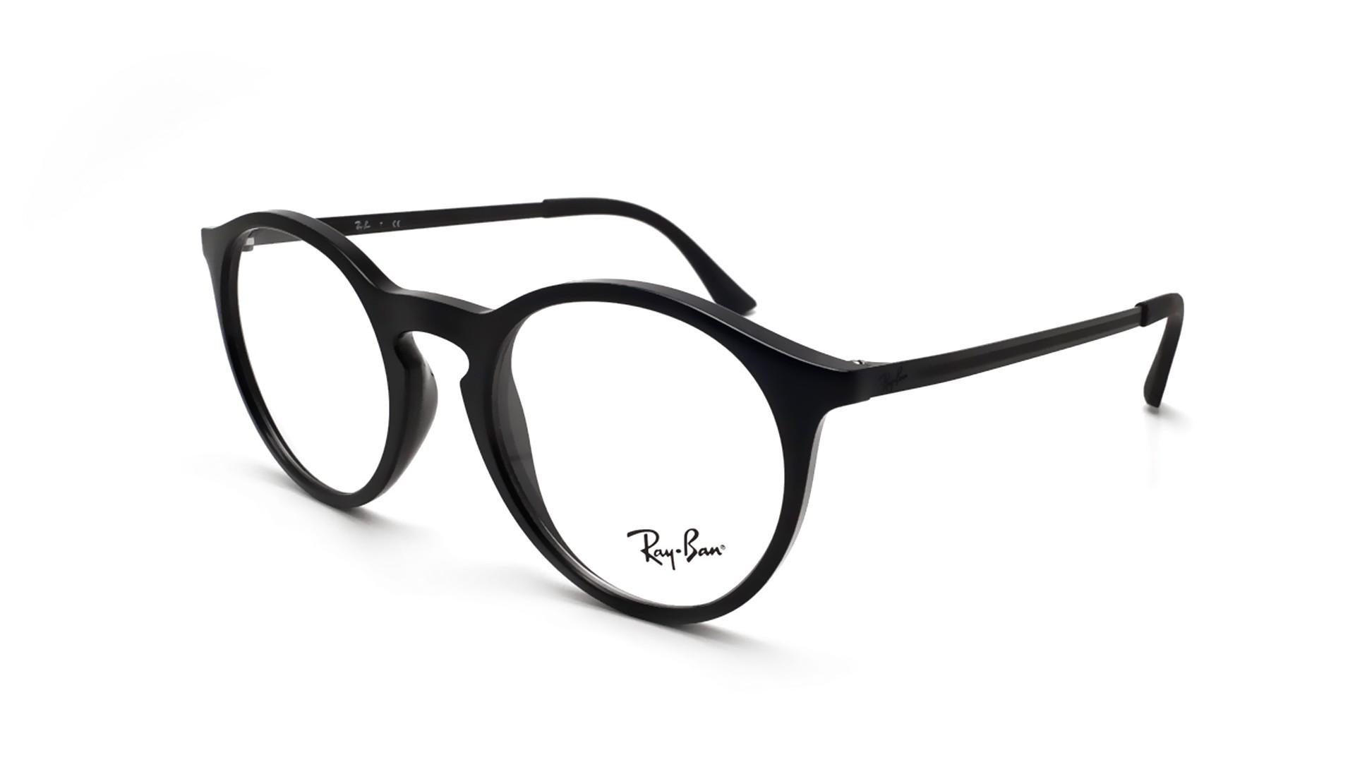 509b218a6ae50 Eyeglasses Ray-Ban RX7132 RB7132 2000 48-20 Black Small