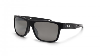 0cb62426b40 Oakley Crossrange Black Mat OO9361 06 57-17 Polarized ...